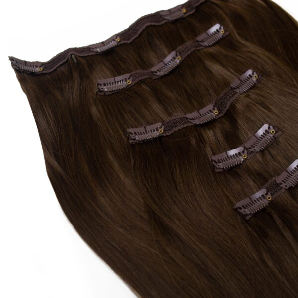Edwards And Co. Extentions - Espresso in 5 piece