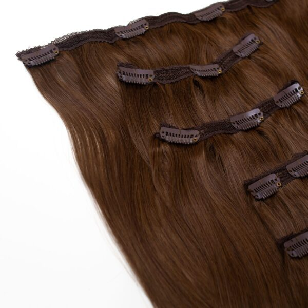 Edwards And Co. Extentions - Mocha in 5 piece