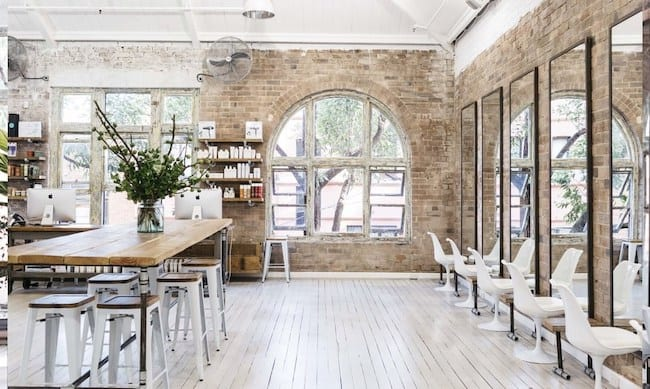 Picture of beautiful interior of Kippax St. Edwards And Co. salon