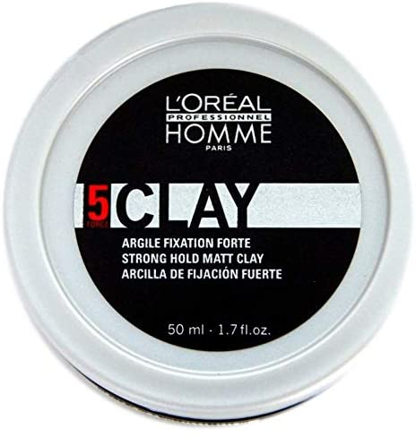 L'Oreal Professionnel Homme Hair Styling Clay 50ml